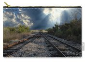 Train Track Junction In Charleston Sc Carry-all Pouch