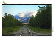 Train Tracks Anchorage Alaska Carry-all Pouch