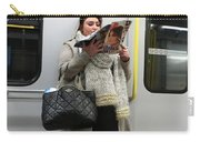 Train Woman Magazine Carry-all Pouch