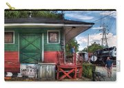Train - Yard - The Train Station Carry-all Pouch by Mike Savad