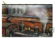 Train - Yard - The Train Yard II Carry-all Pouch by Mike Savad