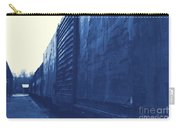 Trains 12 Cyanotype Carry-all Pouch
