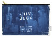Trains 14 Cyanotype Border Carry-all Pouch