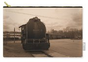 Trains 3 Sepia Carry-all Pouch