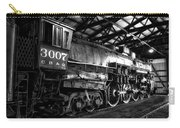Trains 3007 C B Q Steam Engine Bw Carry-all Pouch