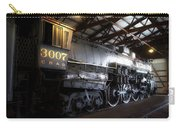 Trains 3007 C B Q Steam Engine Carry-all Pouch