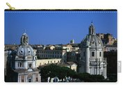 Trajan's Column Church Of Santa Maria Di Loreto Church Of Our Lady Giclee Rome Italy Carry-all Pouch