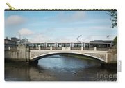 Tram On The Sean Heuston Bridge Carry-all Pouch