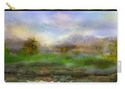 Tranquil Alpine Village Carry-all Pouch