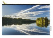 Tranquil Lake In Finland Carry-all Pouch