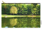 Tranquil Landscape At A Lake 2 Carry-all Pouch