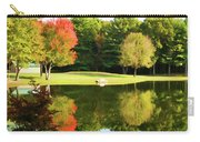 Tranquil Landscape At A Lake 3 Carry-all Pouch