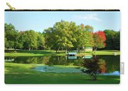 Tranquil Landscape At A Lake 5 Carry-all Pouch