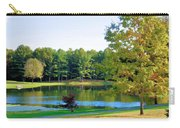 Tranquil Landscape At A Lake 6 Carry-all Pouch