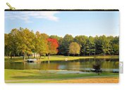 Tranquil Landscape At A Lake 7 Carry-all Pouch