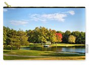 Tranquil Landscape At A Lake 9 Carry-all Pouch