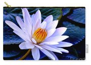 Tranquil Lily Carry-all Pouch