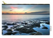 Tranquil Sunrise At Coral Cove Beach Carry-all Pouch