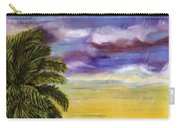 Tranquility At Kapoho Last Sunset Carry-all Pouch