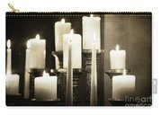 Tranquility Of Candlelight Carry-all Pouch