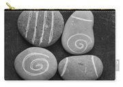 Tranquility Stones Carry-all Pouch by Linda Woods