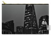 Trans American Building At Night Carry-all Pouch