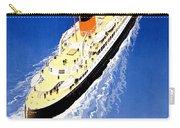 Transatlantic Ocean Liner Carry-all Pouch