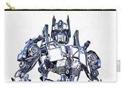Transformers Optimus Prime Or Orion Pax Graphic  Carry-all Pouch