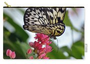 Translucent Butterfly Carry-all Pouch