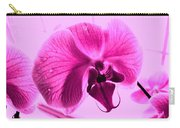 Translucent Purple Petals Carry-all Pouch