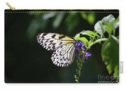 Translucent Wings On A Rice Paper Butterfly Carry-all Pouch
