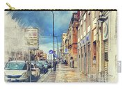 Trapani Art 20 Sicily Carry-all Pouch