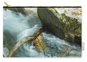 Trapped River Log Carry-all Pouch