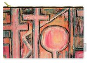 Trappings Of Love Abstract Art Painting  Carry-all Pouch