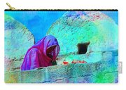 Travel Exotic Woman On Ramparts Mehrangarh Fort India Rajasthan 1e Carry-all Pouch