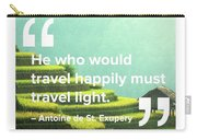 Travel Happy Carry-all Pouch