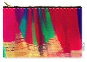 Travel Shopping Colorful Scarves Abstract Series Square India Rajasthan 1h Carry-all Pouch
