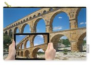 Travel To Pont Du Gard  Carry-all Pouch