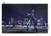 Traveling Man Stepping Out After Dark Carry-all Pouch