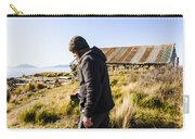 Travelling Man Touring Australia Carry-all Pouch