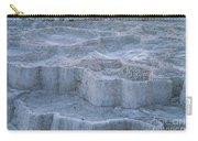 Mammoth Hot Springs Travertine Terraces Two Carry-all Pouch