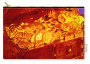 Treasure Chest With Gold Coins Carry-all Pouch