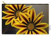 Treasure Flowers With Light Flares Carry-all Pouch