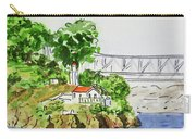 Treasure Island - California Sketchbook Project  Carry-all Pouch