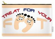 Treat For Your Feet Carry-all Pouch