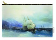 Trebizond From The Sea 1875 61h94 Ivan Konstantinovich Aivazovsky Carry-all Pouch