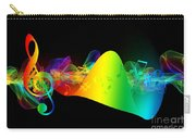 Treble Clef In Motion Carry-all Pouch