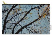 Tree Against The Sky Carry-all Pouch