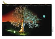 Tree And Moon Carry-all Pouch