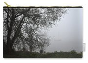 Tree And Moored Boat Carry-all Pouch